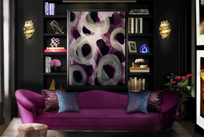 Find the Perfect Living Room Design with Floor Lamp Ideas colette sofa tresor stool chloe sconce blackcobra rug koket projects