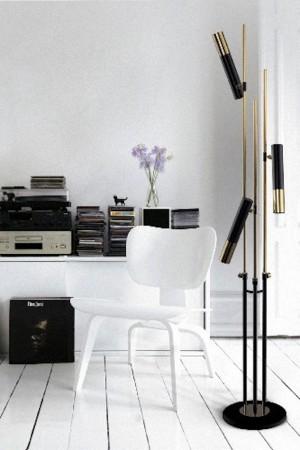delightfull mid-century modern floor lamp