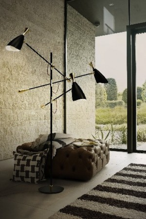 delightfull black floor lamp