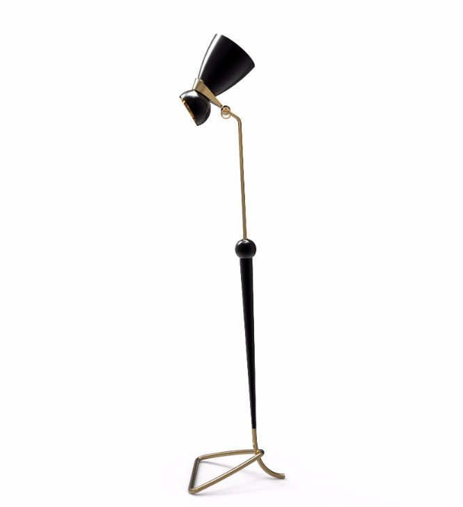 modern floor lamp Bright Ideas: The Perfect Modern Floor Lamp for Perusing Real Books 5