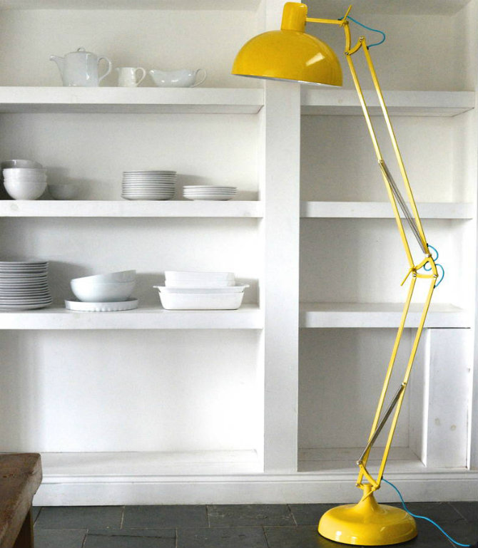Yellow Modern Floor Lamps For Your Home Designs