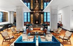 hospitality industry Best projects in the hospitality industry using statement lighting Featured 1 240x150