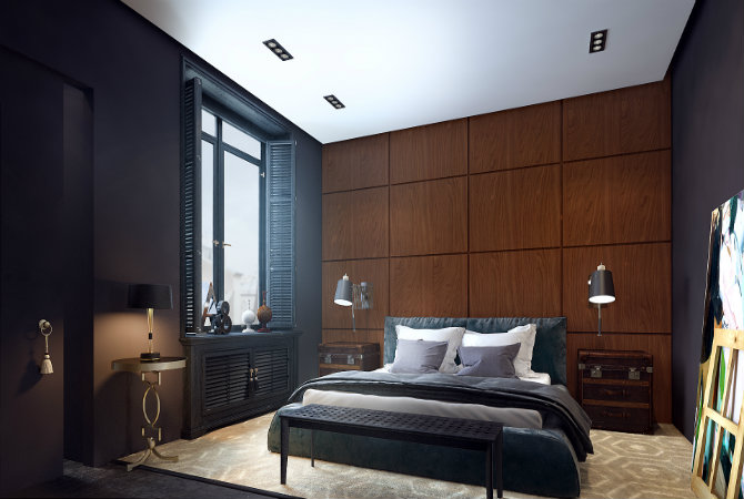Mid-century modern apartment with great lighting design pieces modern apartment Mid-century modern apartment with great lighting design pieces featured Mid century modern apartment with great lighting design pieces