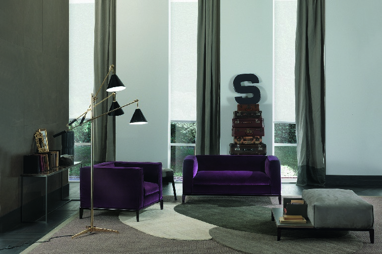 Sinatra Black Floor Lamp from DelightFULL  Sinatra Black Floor Lamp from DelightFULL Sinatra Black Floor Lamp from DelightFULL