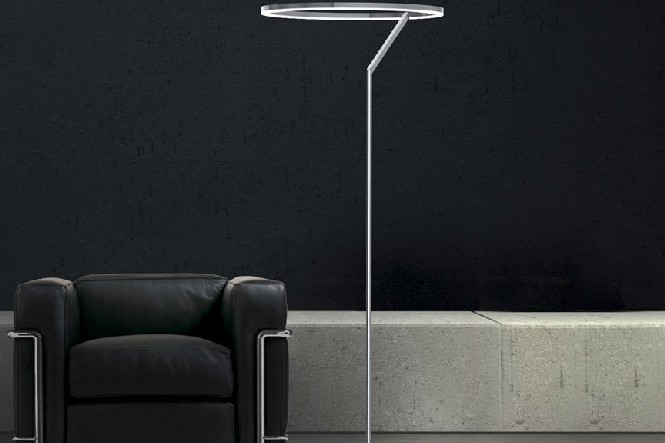 White Modern Floor Lamp  White Modern Floor Lamp 88602 8681641