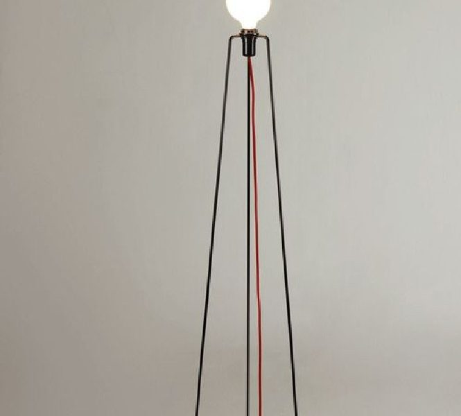 Powder-Coated Metal 'Model' Floor Lamp by Grupa Products, 2012.