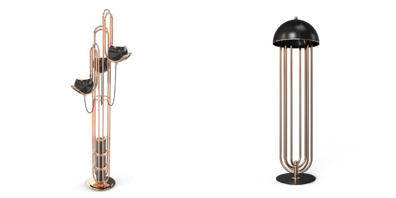 floor lamp designs Some Amazing Floor Lamp Designs Using Copper collage 2