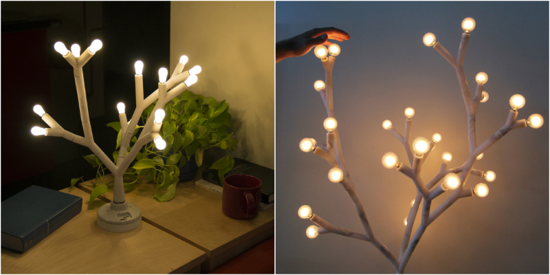 Splyt: The LED Tree Standing Lamp standing lamp Splyt: The LED Tree Standing Lamp collage feat 2