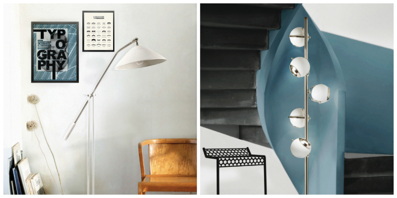 Mid-Century Floor Lamps Inspired by Iconic People mid-century floor lamps Mid-Century Floor Lamps Inspired by Iconic People collage feat