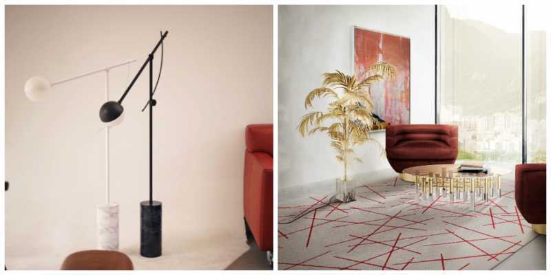 Modern Floor Lamps with Marble you Should Get Right Now modern floor lamps Modern Floor Lamps with Marble Details you Should Get Right Now collage