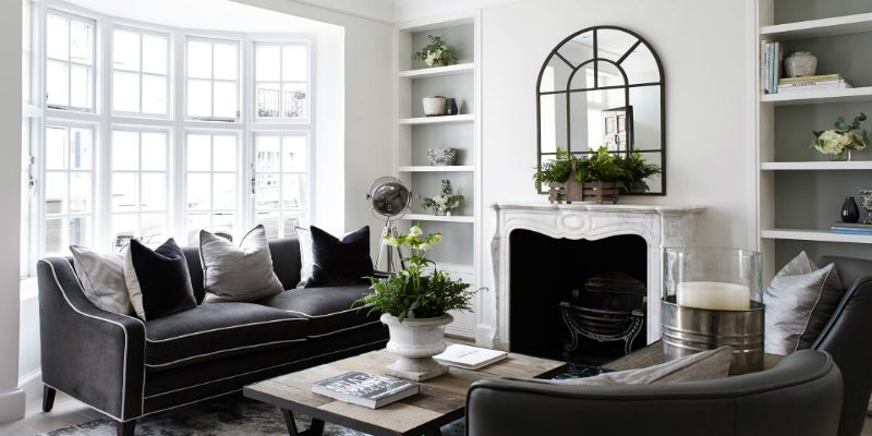 Refurbished Chelsea Cottage with Amazing Lighting Details