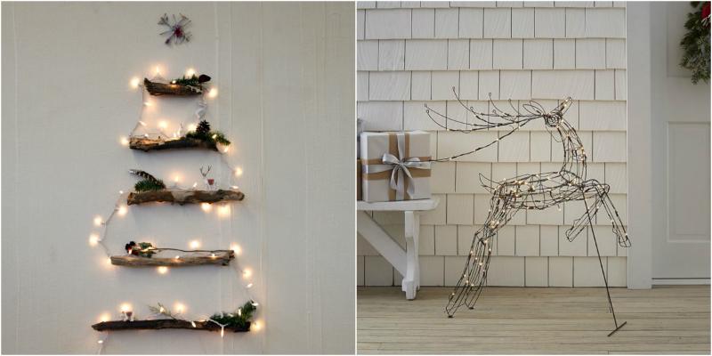 String Light Ideas for Your Minimalist Christmas Decor
