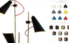 Let's Face the New Year with These Customizable Modern Floor Lamps
