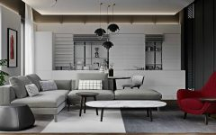 Luxurious Apartment Shining With DelightFULL Lighting Designs