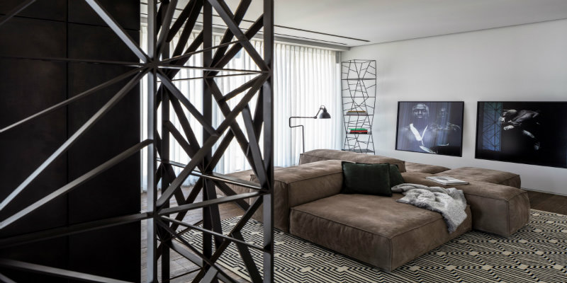 modern floor lamps A Tel Aviv Apartment with Modern Floor Lamps That You Must See p duplex 025