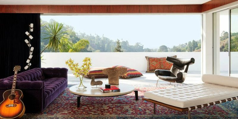 Adam Levine's Hollywood Hills Home with Mid-Century Floor Lamps 10 mid-century floor lamp Adam Levine's Hollywood Hills Home with Mid-Century Floor Lamps Adam Levines Hollywood Hills Home with Mid Century Floor Lamps 11 800x400