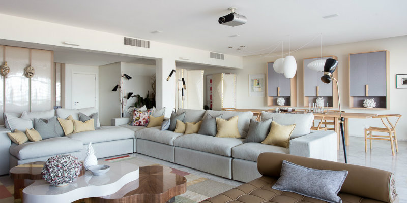 Apartment in Copacabana Filled with Modern Floor Lamps feat modern floor lamps Apartment in Copacabana Filled with Modern Floor Lamps Apartment in Copacabana Filled with Modern Floor Lamps feat