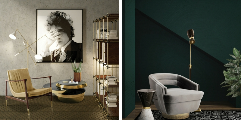 Perfect Match Reading Chairs & Modern Floor Lamps 1