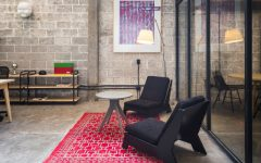 Dazzling Co-Working Offices Filled with Mid-Century Arc Floor Lamps 11