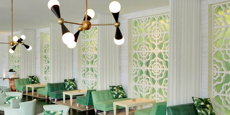 Palm Springs Hotel with Stunning Mid-Century Lighting Designs FEAT lighting design Iconic Palm Springs Hotel with Stunning Mid-Century Lighting Designs Palm Springs Hotel with Stunning Mid Century Lighting Designs FEAT