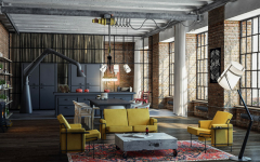 ow Modern Floor Lamps Can Brighten Up Your Industrial Loft modern floor lamps How Modern Floor Lamps Can Brighten Up Your Industrial Loft How Modern floor lamps 240x150