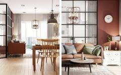 Mid-Century Lighting Shines in Scandinavian Home
