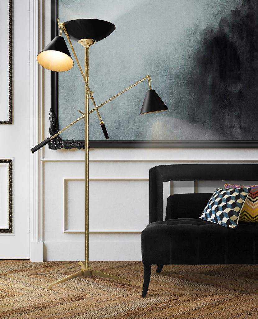 What's Hot On Pinterest : Black Floor Lamps Edition! black floor lamps What's Hot On Pinterest : Black Floor Lamps Edition! Check The Beauty Of Mid Century Modern Lighting Designs 1 830x1024