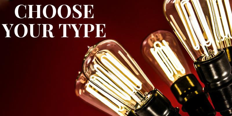 Mid-century Lighting Classics Choose Your Type