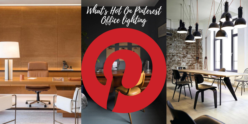 office lighting What's Hot On Pinterest Office Lighting Shines Your Work Whats Hot On PinterestOffice lighting 800x400