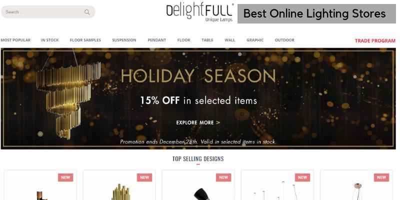 online lighting stores Get Your Dream Piece With These Online Lighting Stores! Best Online Lighting Stores 800x400