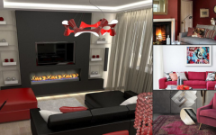 modern floor lamps Modern Floor Lamps In An All Red Everything Decor! Design sem nome 6 240x150