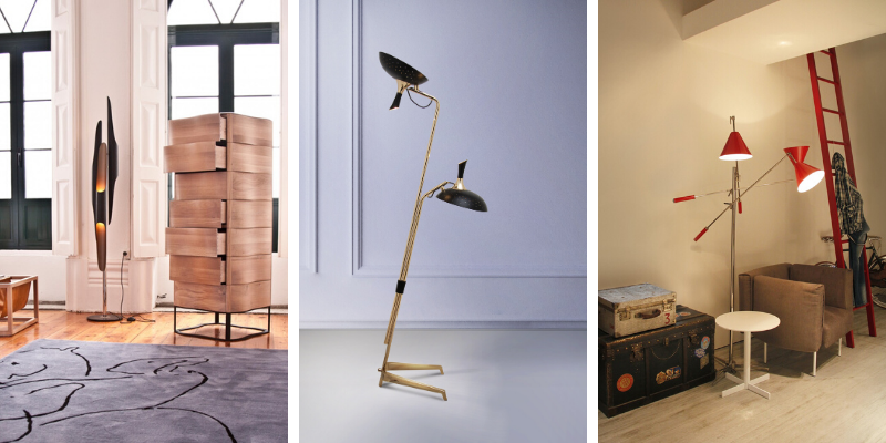 Home LightBuilding Presents The Best Mid Century Modern Floor Lamps 800x400