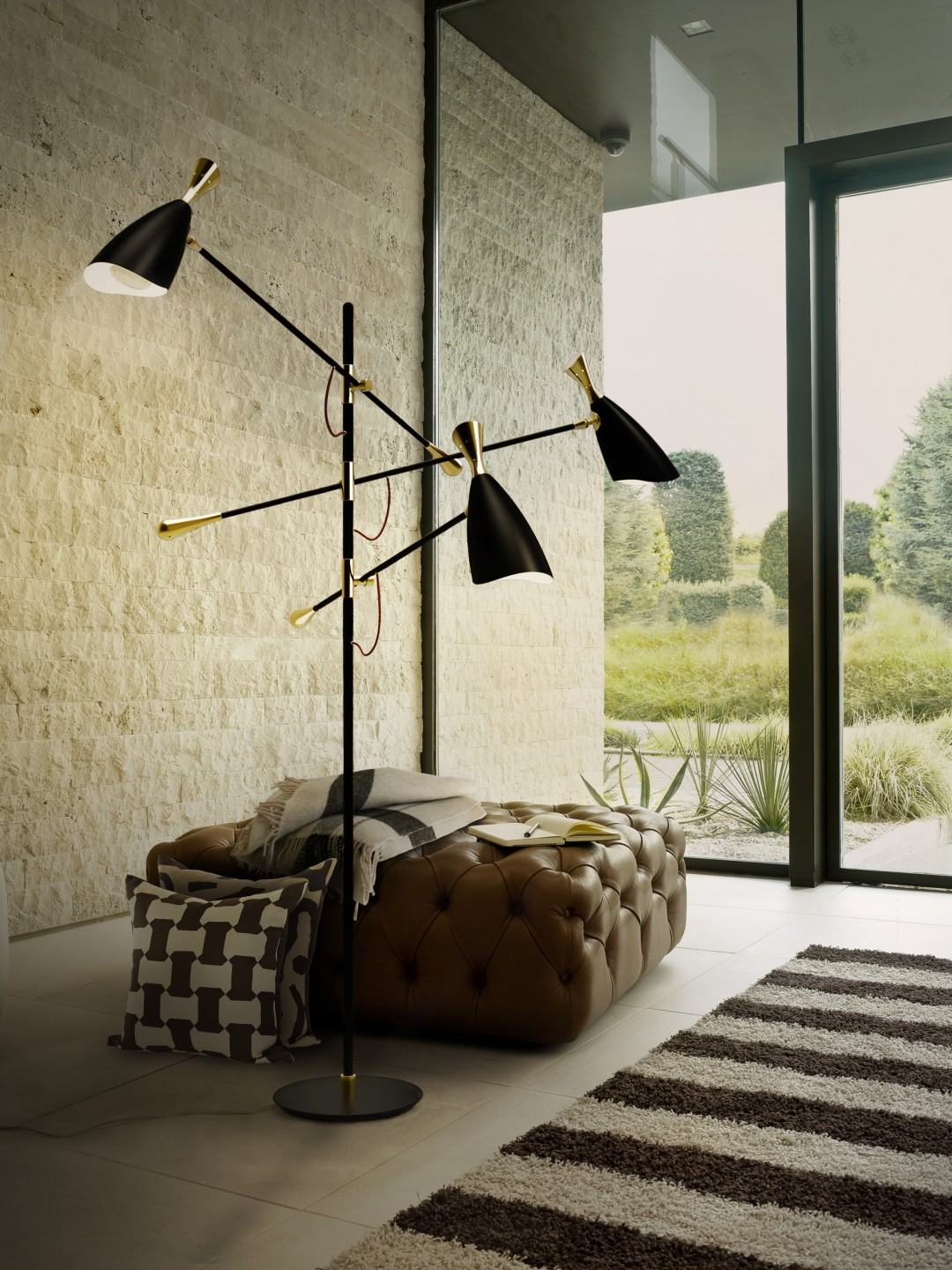 industrial modern home industrial modern home 4 Mid-Century Floor Lamps For Your Industrial Modern Home! duke floor ambience 05 HR16b9f4fc41b4ee3f151ef33c827e75c9