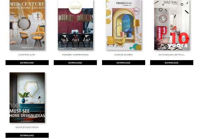 Inspirational Interior Design Ebooks That Channel Mid-Century Style Perfectly!