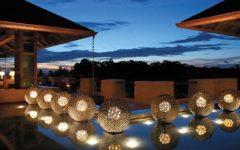 Outdoor Lighting scenarios set with modern floor lamps that you will love!