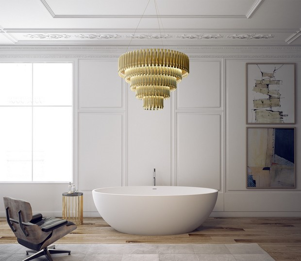 How These Lighting Pieces Added Warmth to a Cold, Unwelcoming Bathroom bathroom How These Lighting Pieces Added Warmth to a Cold, Unwelcoming Bathroom 1 2