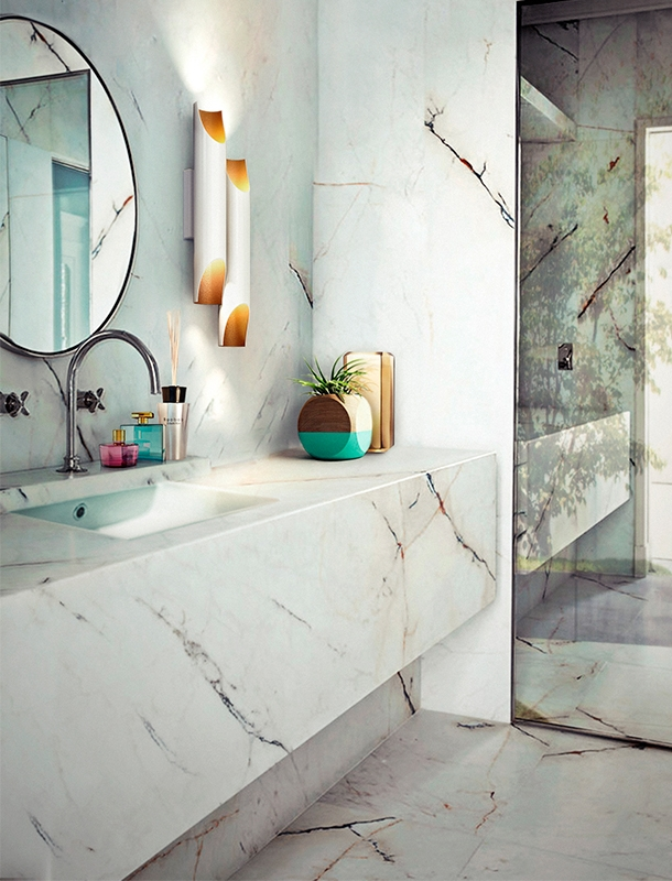 How These Lighting Pieces Added Warmth to a Cold, Unwelcoming Bathroom bathroom How These Lighting Pieces Added Warmth to a Cold, Unwelcoming Bathroom 3 2
