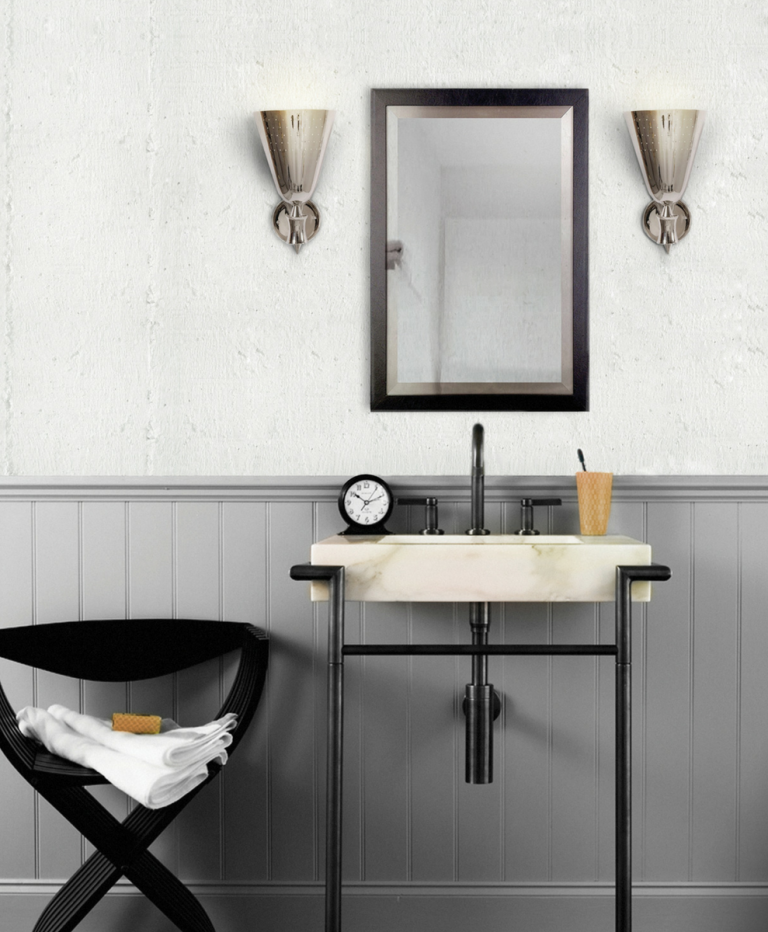 How These Lighting Pieces Added Warmth to a Cold, Unwelcoming Bathroom bathroom How These Lighting Pieces Added Warmth to a Cold, Unwelcoming Bathroom 4