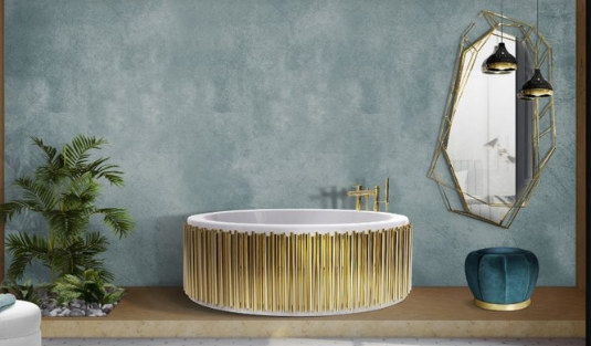 How These Lighting Pieces Added Warmth to a Cold, Unwelcoming Bathroom bathroom How These Lighting Pieces Added Warmth to a Cold, Unwelcoming Bathroom 9